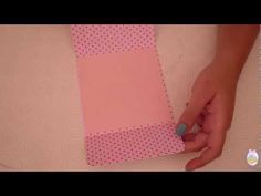 Card semplice con taschina porta soldi (tutorial) - YouTube