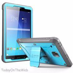 Samsung Galaxy Tab E 8.0 SUPCASE Unicorn Beetle PRO Series Protective Blue Case #SUPCASE