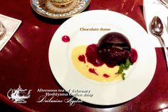 Afternoon tea of February ♥ Hoshiyama Coffee shop