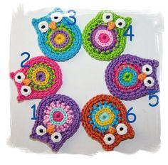 119 Beste Afbeeldingen Van Uiltjes Crochet Baby Crochet Owls En