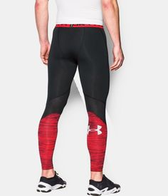 d88e429ceca19 Men's UA CoolSwitch Compression Leggings, Black , undefined Mens Tights, Running  Tights, Athletic
