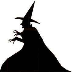 witch silhouette free patterns | How to Build Halloween Silhouettes For a Spooky Yard