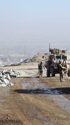 ATF Dingo, KMW, infantry mobility vehicle, MPPV PC, soldier, Afghanistan, Czech Army, Czech Republic