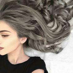 awesome Модный пепельный цвет волос (50 фото) — Трендовые оттенки 2017