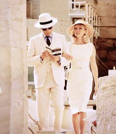 Viggo Mortensen & Kirsten Dunst filming The Two Faces of January (2013)