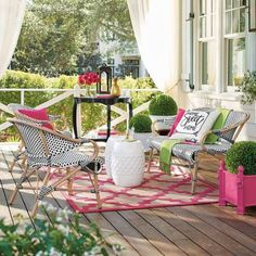 Imagine a 1930s Parisian sidewalk caf and our Monet Set takes    exquisite shape: a curvaceous silhouette wrapped in crisp two-tone finery;    a place to share an espresso, to talk, to cuddle to look equally    fashionable. Tr jolie! The Monet Set is crafted from    all-weather resin wicker, woven over sturdy aluminum frames, finished with    a faux bamboo look only uniquely charming, but comfortable and    built to last.                 Wicker loveseat crafted in the fashion of a classic...