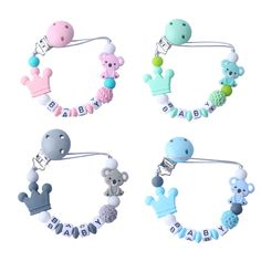 UNICORN CUTE ALL TEATS PERSONALISED DUMMY PACIFIER SOOTHER SIZES /& COLOURS