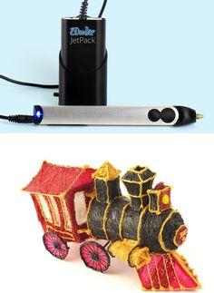 3D printing pen the 3Doodler.