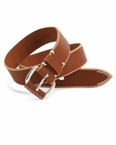 Brink Brown Leather Belt EDWIN