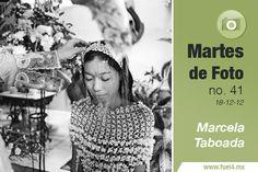 """Marcela Taboada es una reconocida fotógrafa autodidacta poblana. Su trabajo ha sido publicado en periódicos y revistas como Cuartoscuro, México Desconocido, Hasselblad Forum, The New York Times.  Entre sus proyectos destacados se encuentra """"Mujeres de Arcilla"""" en los cuales retrató un pueblo de Oaxaca, el cual fue impactado por la migración de los hombres de familia a los Estados Unidos. Debido a esto, las mujeres del pueblo se dieron a la tarea de construir por ellas mismas sus casas con…"""