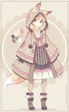 Browse anime girl Kawaii collected by Vale and make your own Anime album. Anime Chibi, Anime Pokemon, Anime W, Loli Kawaii, Kawaii Art, Kawaii Anime Girl, Anime Art Girl, Anime Girls, Anime Style