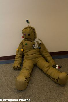 Voodoo Doll 2012. This is one of the most creative costumes I have seen.