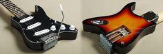 Guitar Blog: GrassRoots GR-PGG 3TS electric travel guitar