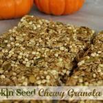 No-Bake Pumpkin Seed Chewy Granola Bars
