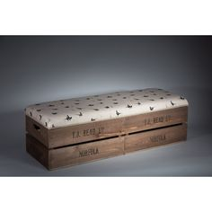 Found it at Wayfair.co.uk - Apple Box Storage Bench