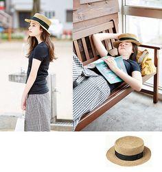 Ravelry: 216ss-28 Straw Top Hat pattern by Pierrot (Gosyo Co., Ltd)