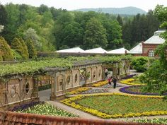 I used to take my students on a field trip. Expensive but rich with architectural details and mountain vistas. There were a couple John Singer Sargents, Renoirs, and print reproductions worth noting on our tour as well. Ak Travel, Places To Travel, Places To See, Adventure Travel, Places Ive Been, Grove Park Inn, Beautiful Gardens, Amazing Gardens, Nc Mountains