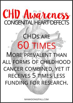 Learn more about Congenital Heart Defects, and ways you can help spread awareness! Chd Awareness Month, Congenital Heart Defect, Childhood Cancer, Medical Information, Heart Beat, Heart For Kids, Heart Disease, In A Heartbeat, Raising