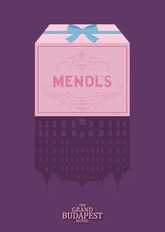 The Grand Budapest Hotel (2014) ~ Minimal Movie Poster by David Peacock #amusementphile