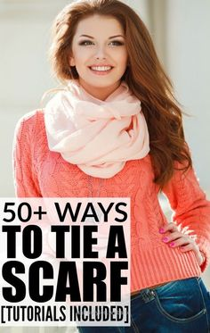 Perfect These tutorials are LOADED with ideas on how to tie scarves to make you look fashionable this Fall and Winter. Make sure to bookmark this page!!!  The post  These tutorials are LOADED w ..