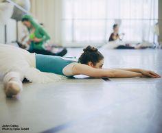dance class. and stretch!
