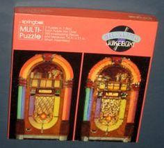 Gee Ma It's a Jukebox Springbok 2 in 1 Jigsaw Puzzle Wurlitzer Juke Box PZL3507 COMPLETE $6