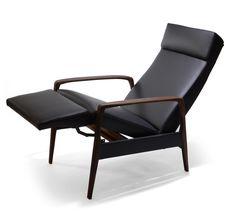 Retro Recliner Armchair