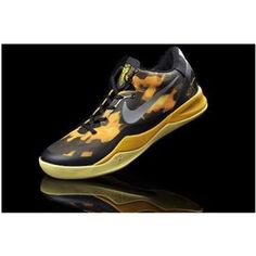 timeless design 8470d 76357 www.asneakers4u.com  Nike Zoom Kobe 8 VIII Women Shoes Black Yellow