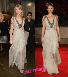 Los looks de 10 de Taylor Swift en los Grammy