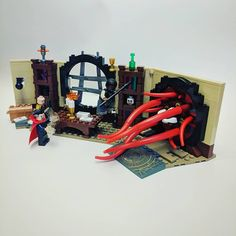 Doctor Strange's Sanctum Sanctorum.  #llunitll #lego #marvel #doctorstrange #legophotography #legostagram #legominifigures #minifigures #toys #legos #toyslagram_lego #bricks #toyphotography #instalego #toy #minifigure #legomania #legogram #legophoto #legobricks #toyartistry #brick #fun #legoart #minifig #toyslagram_lego