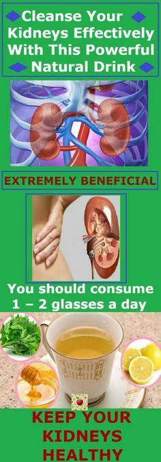 Cleanse Your Kidneys Effectively With This Powerful Natural Drink