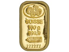 PAMP Suisse 100 gram Cast Gold Bar