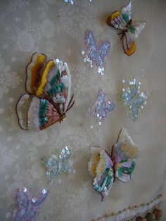 Lesage butterflies. No, I'm not going to make them, but aren't they lovely?