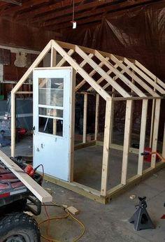 how to build a greenhouse #buildingagardenshed
