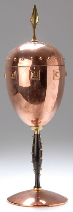 Covered chalice, German, c. 1910
