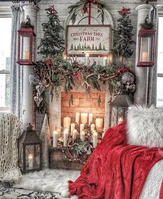 Are you searching for pictures for farmhouse christmas decor? Check this out for very best farmhouse christmas decor ideas. This particular farmhouse christmas decor ideas looks entirely amazing. Farmhouse Christmas Decor, Outdoor Christmas, Rustic Christmas, Christmas Home, Farmhouse Decor, Farmhouse Ideas, Urban Farmhouse, Fresh Farmhouse, Farmhouse Style