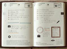 Clipboard stamp 手帳スタンプ* 鳥の葉工房