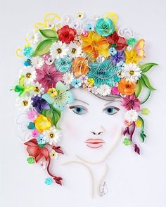 """My beauty """"Flower Girl"""" on my #etsy  shop already and waiting to be shipped to the new owner  #flowermagic #flowers…"""