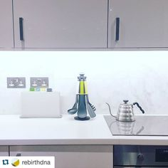 Stunning kitchen in our #photooftheday from @rebirthdna  Kitchen toys came! Time for cooking! . . . #interior #simple #simplechiclife #minimalist #minimal #modern #home #instadaily #design #marble #josephjoseph #hario #kitchen #london #londonliving #vscocam #buono http://ift.tt/20b7VYo