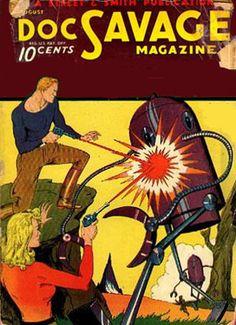 Doc Savage Magazine August