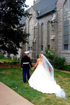 Our USMC wedding