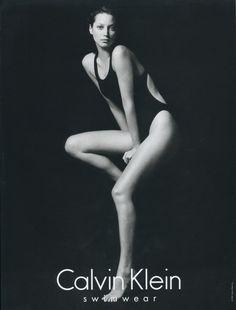 Throwback Thursday   Christy Turlington for Calvin Klein Underwear 1995 Ads