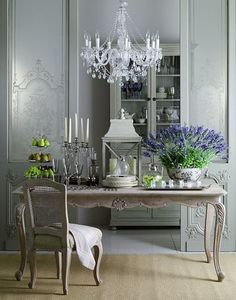 99+ simple french country dining room decor ideas (59)