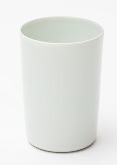 "Time & Style ""Hiya"" Sake Cup. Porcelain. φ62×H89 (200ml). TSHK00101"