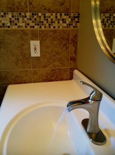 Brea 4 In Centerset 1 Handle Bathroom Faucet In Brushed