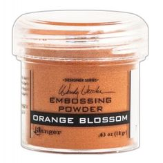 Ranger - Wendy Vecchi - Embossing Powders - Orange Blossom