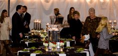 Merrimon-Wynne House - Raleigh NC Wedding Venues -  Getting ready to eat