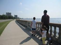 The sidewalk at Bay Shore Blvd., in Tampa, Florida is the world's longest continuous sidewalk at about 4 1/2 miles.