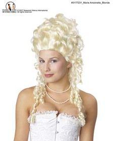 Morris Costumes MR-177231 Marie Antionette Wig Blonde