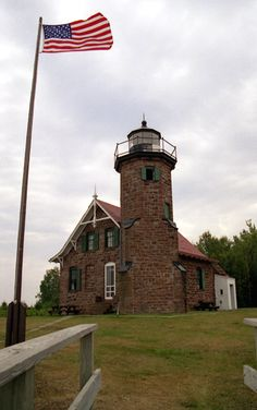 Sand Island, WI. Favorite lighthouse